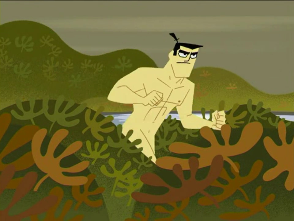 Samurai Jack Is Naked 29