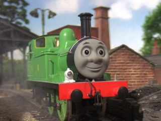 Duck and Oliver's Crazy Great Western Adventures: It's Thomas, but with a twist. Oliver_TTTE_2