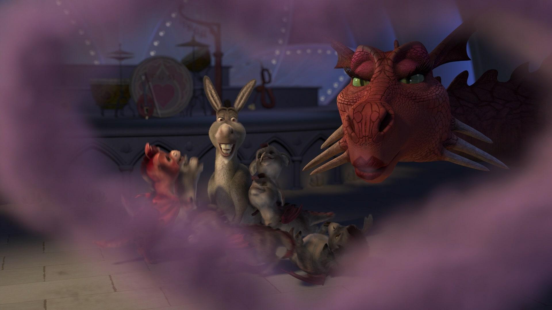 Dollsshrek shrek, fairytale friends donkey,shrek, puss Brought a...