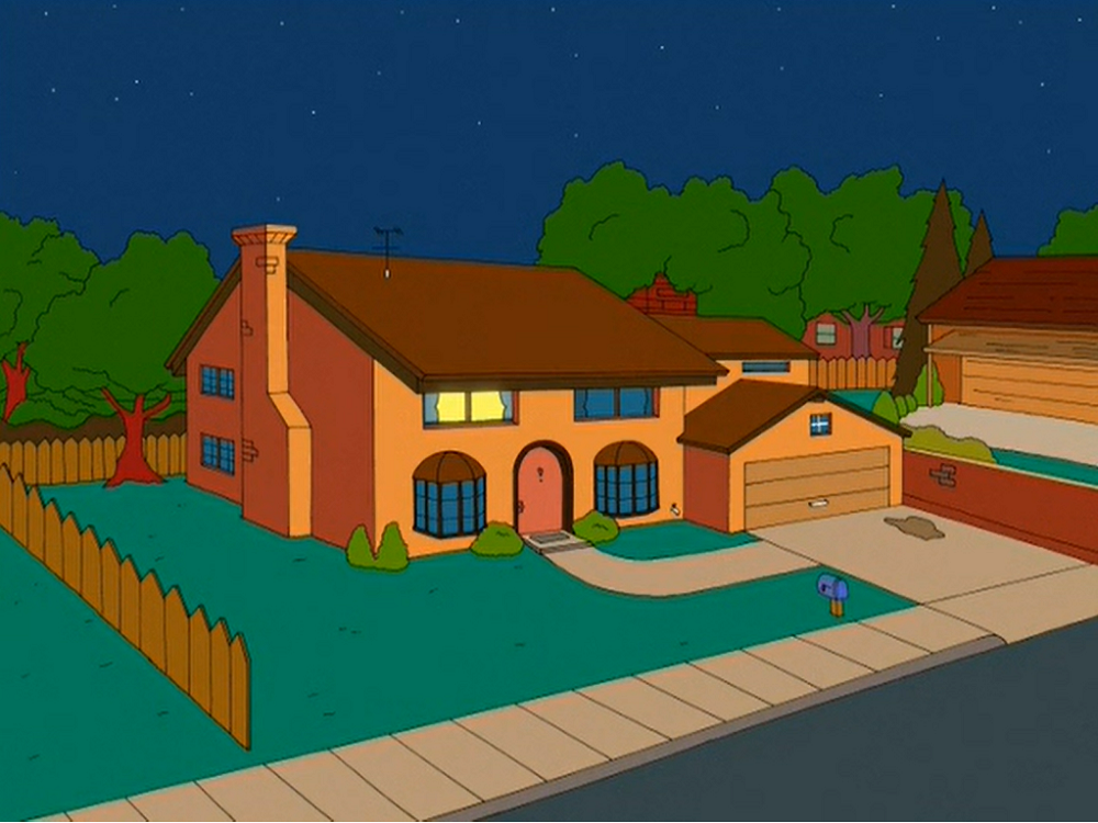 The Simpsons family is then killed in one-by-one a chain reaction shooting ...