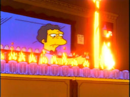 A Flaming Homer
