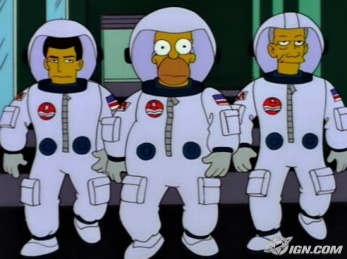 the simpsons astronaut - photo #2