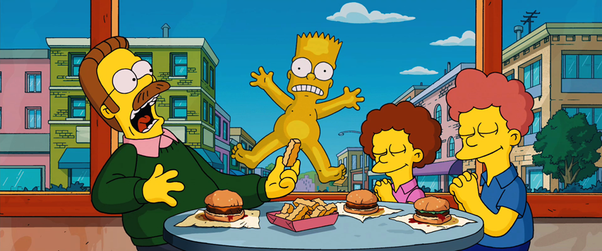 Bart's Potato Chip in The Simpsons Movie