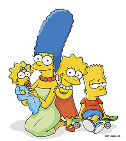 Image   Marge  Maggie  Lisa   Bart     Simpsons Wiki