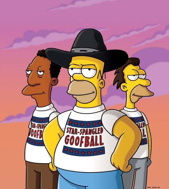 Coming to Homerica - Simpsons Wiki