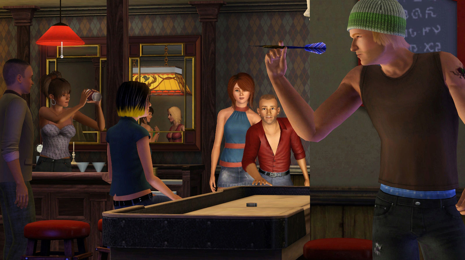 The sims 3 в сумерках the sims 3 late night multi rus
