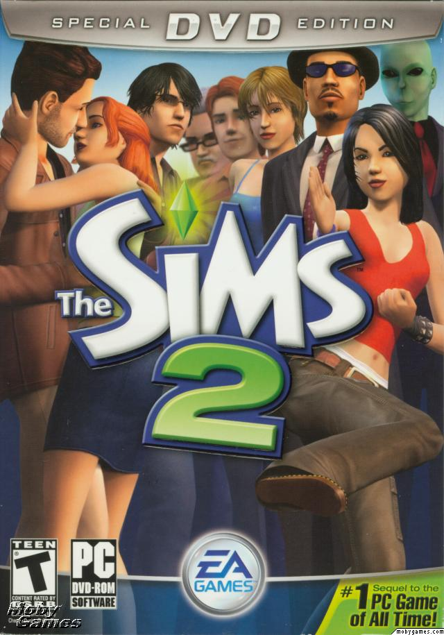 TheSims2(SpecialDVDEdition) 1  a poster in Olympia,