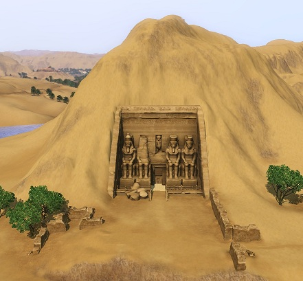 images and places pictures and info abu simbel sims 3 guide. Black Bedroom Furniture Sets. Home Design Ideas