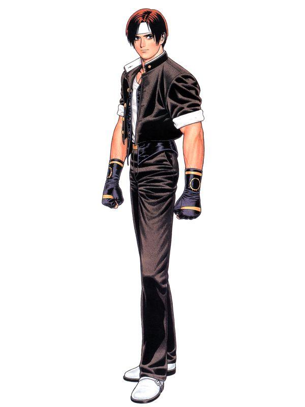 Персонажи King of Fighter Kyo-97-art