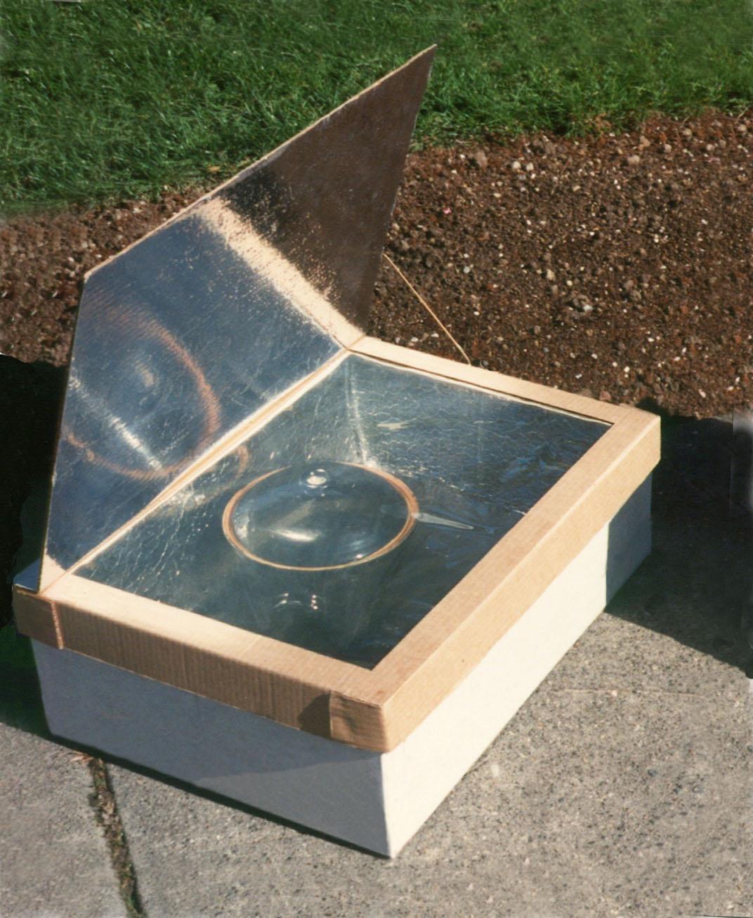 Minimum Solar Box Cooker