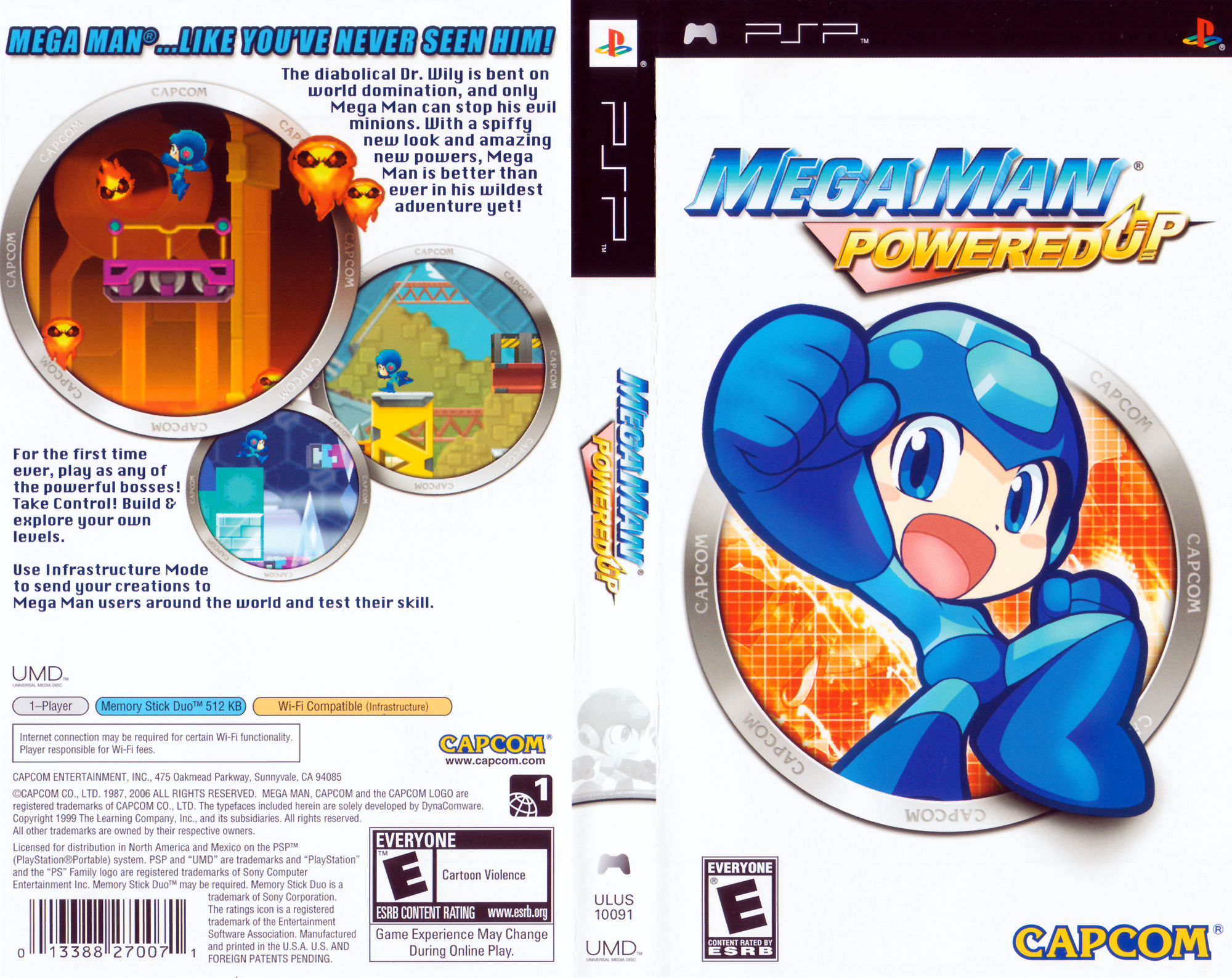 Mega Man Powered [CSO] [Ingles] [PSP]