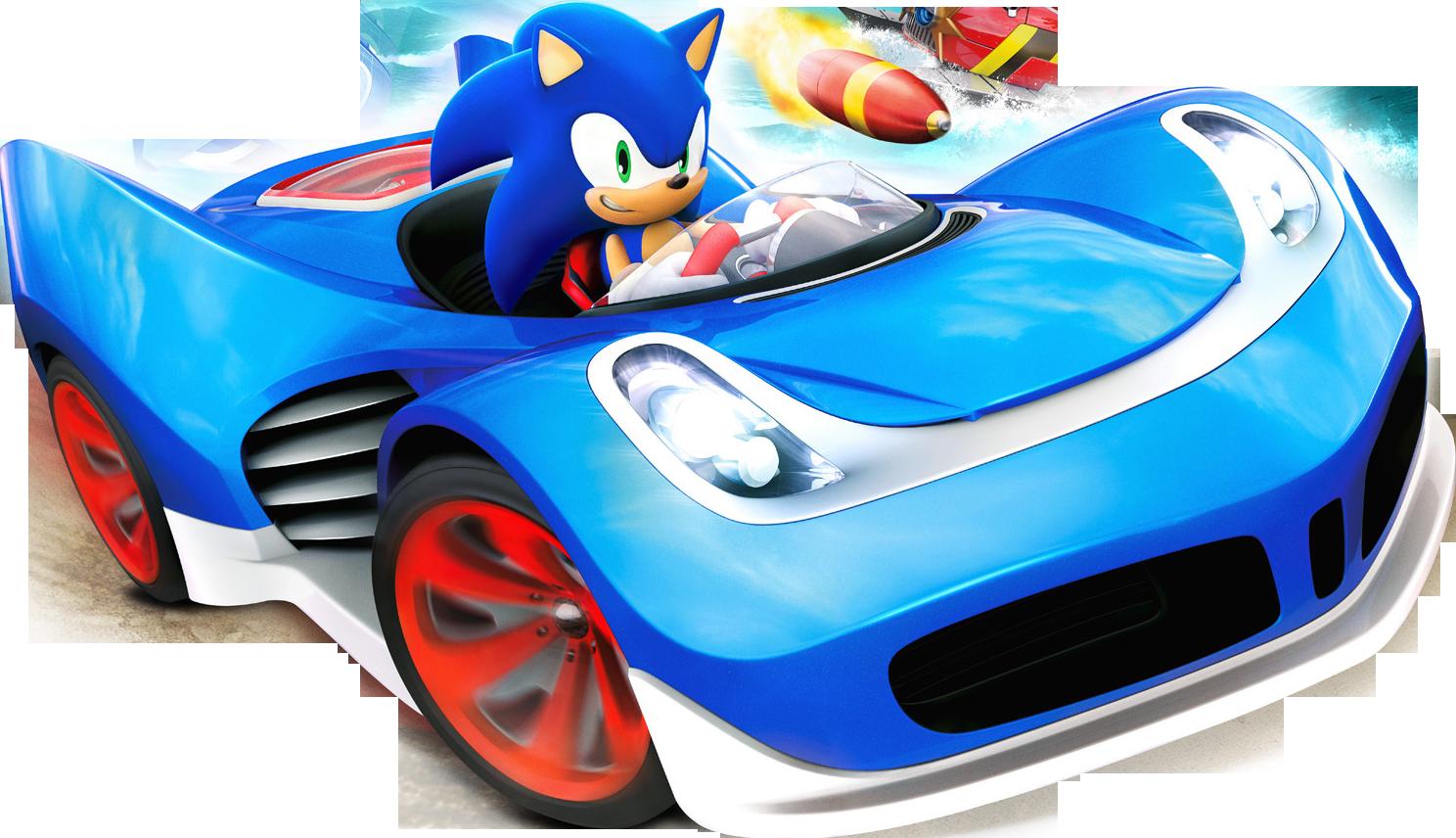 Sonic Allstar Racing Cars