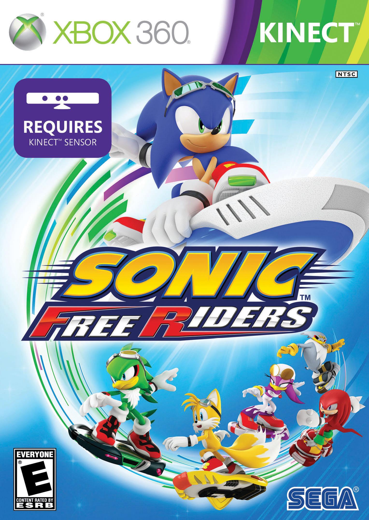 Sonic Free Riders RGH Xbox 360 Español 1.6gb [Mega+] Xbox Ps3 Pc Xbox360 Wii Nintendo Mac Linux