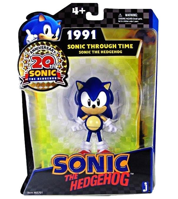 Figuras articuladas y peluches de Sonic Generations