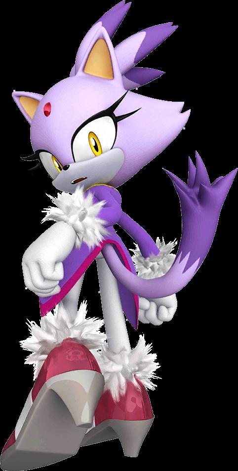 Blaze The Cat - La Princesse du Feu entre en scène ![validée] Braze