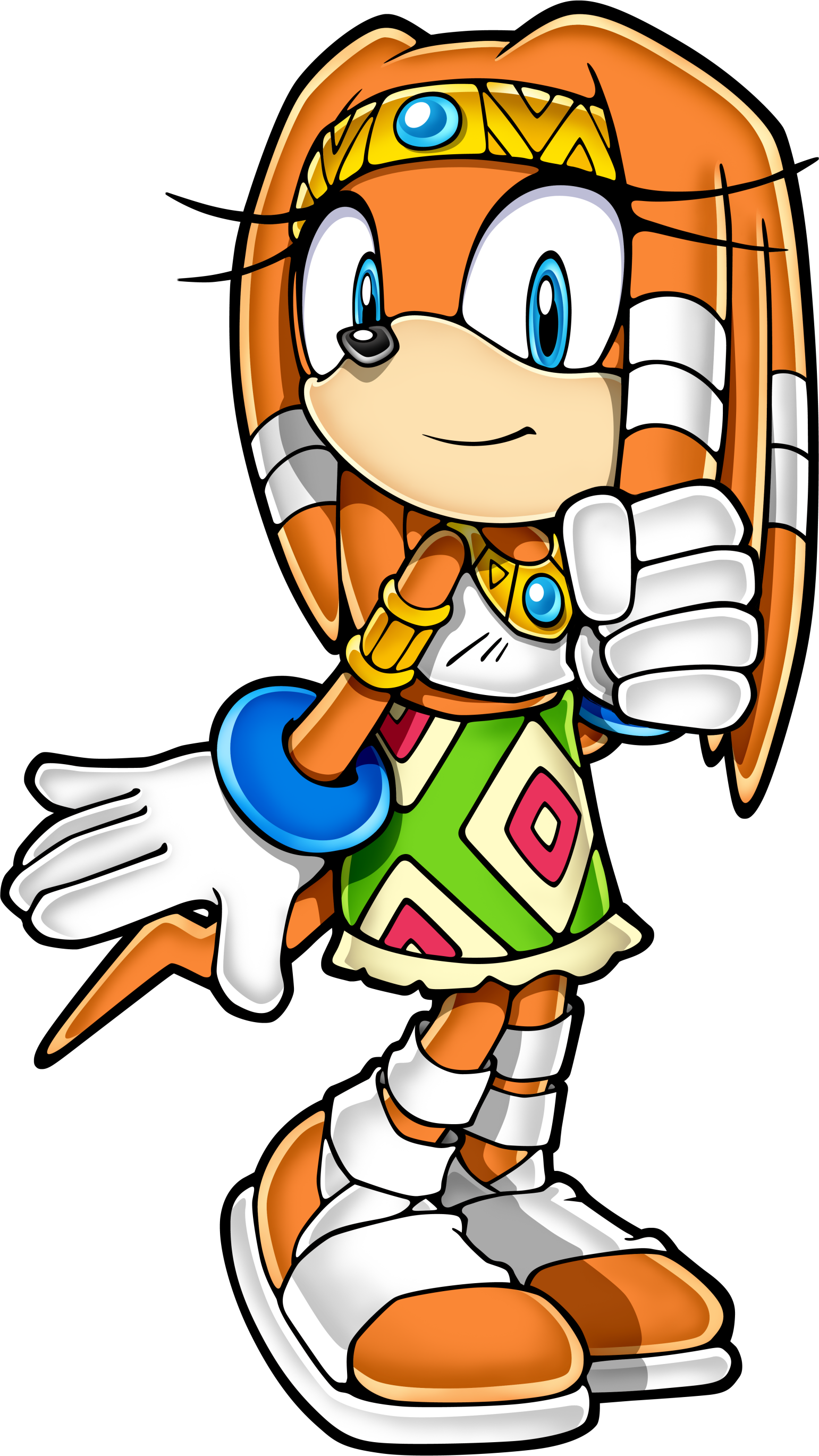 Tikal the Echidna - Sonic News Network, the Sonic Wiki