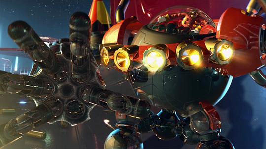 Super Eggbot dirigé par Eggman