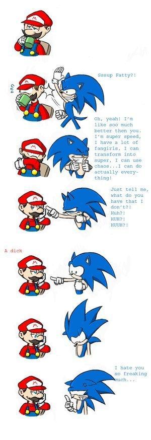 funny mario videos. Sonic Funny Comics (and a few