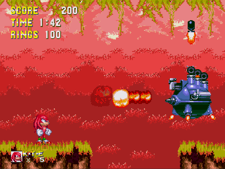 Sonic 3 & Knuckles: Painto edition - Sega Genesis/Mega Drive ...