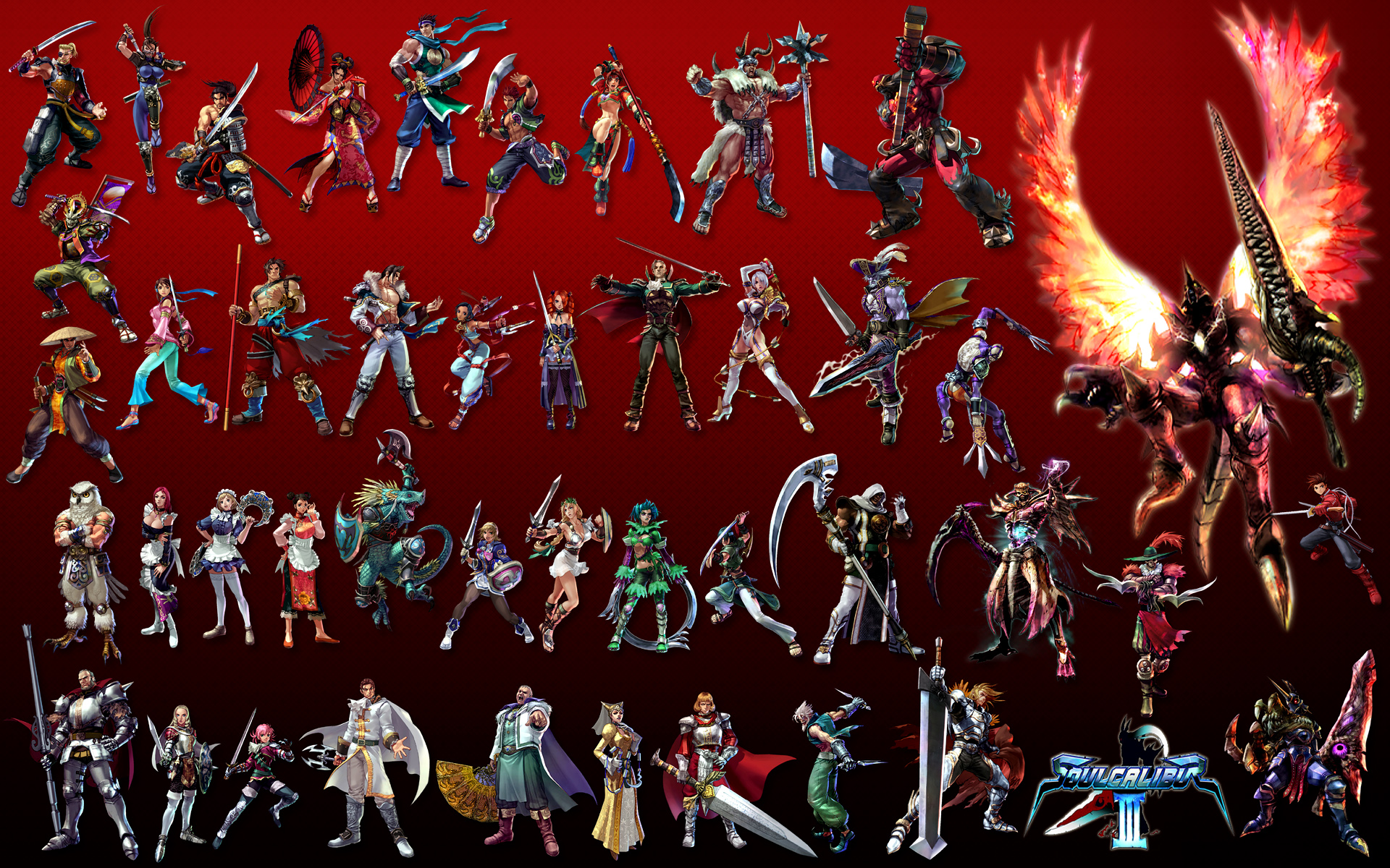 Soul Calibur III All Character jpgSoul Calibur 1 Characters