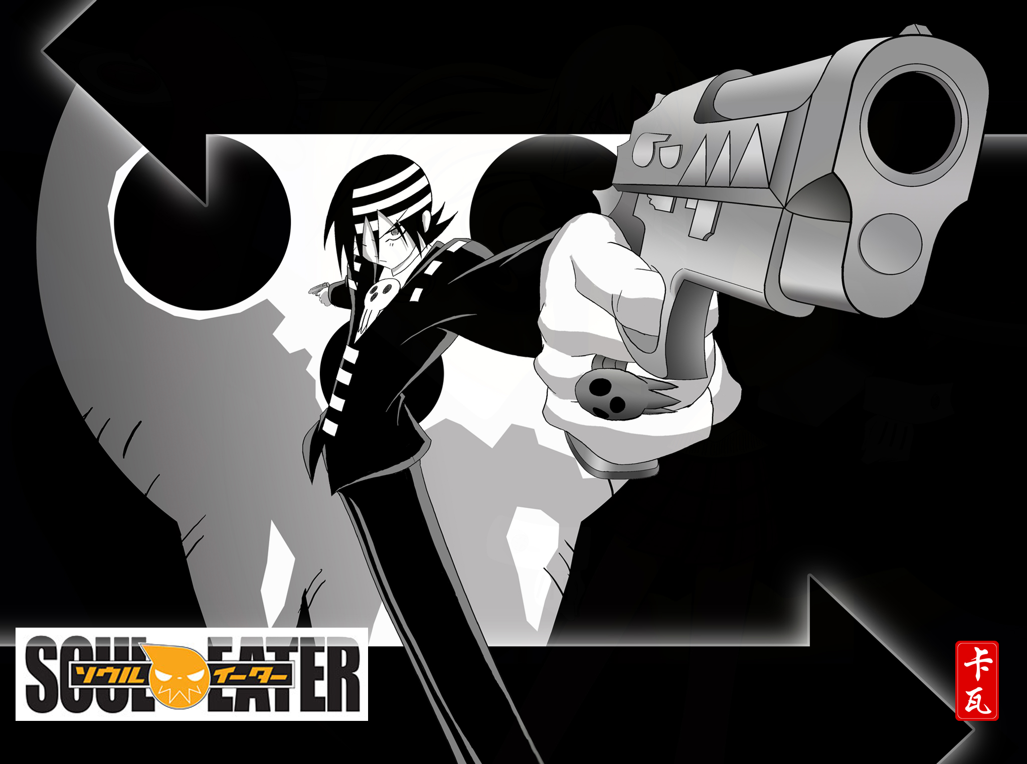 Image - Death-the-Kid.jpg - Soul Eater Wiki - The Encyclopedia ...