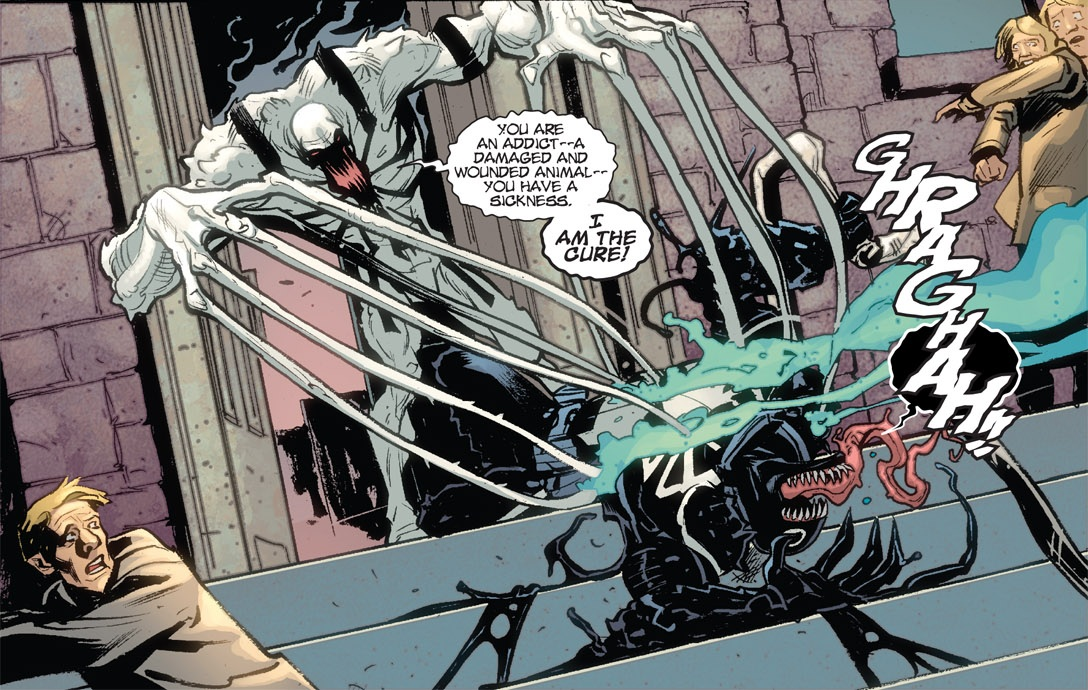 Agent Anti-Venom VS Spider-Man (Maniac Symbiote ...
