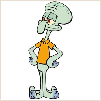 Image - Squidward Tentacles.png - Encyclopedia SpongeBobia ... Spongebob Characters Squidward