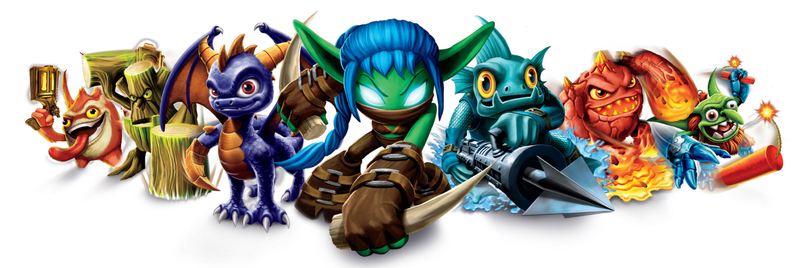 Skylanders Publish With Glogster