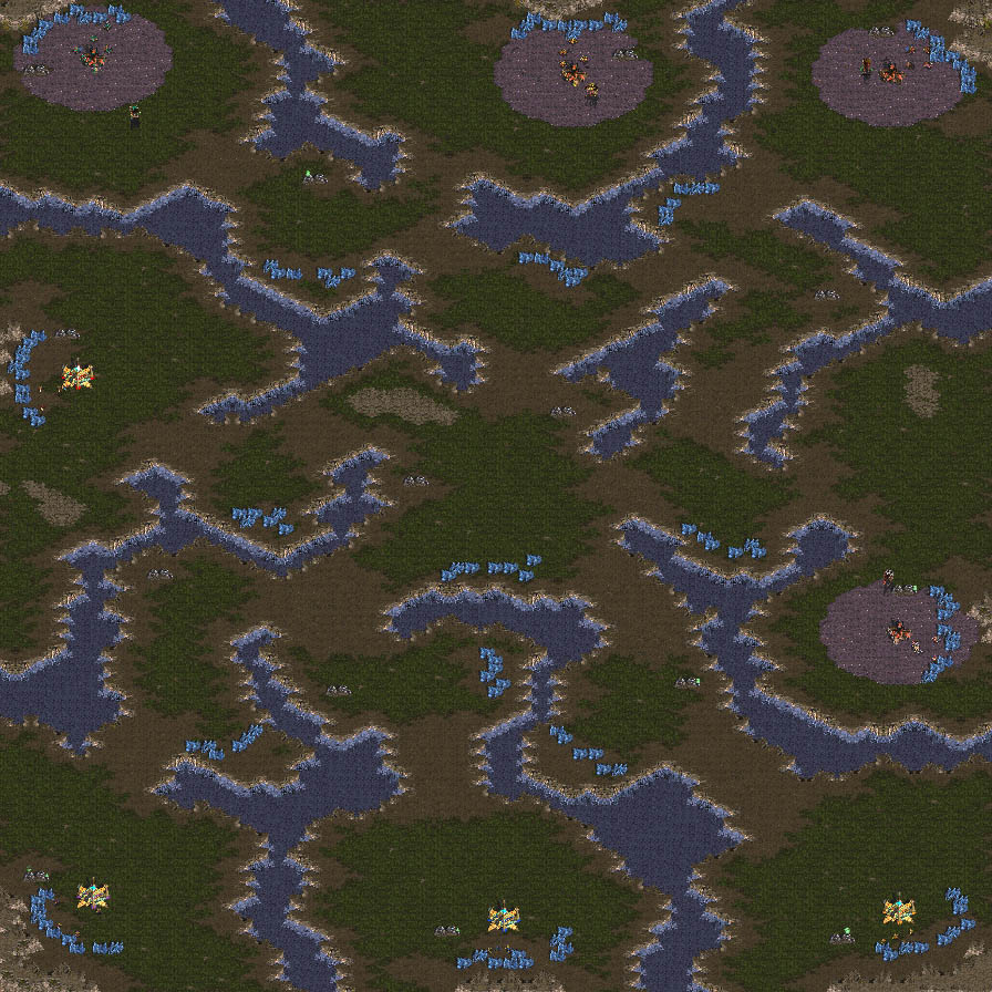 projection density demp equalized map starcraft