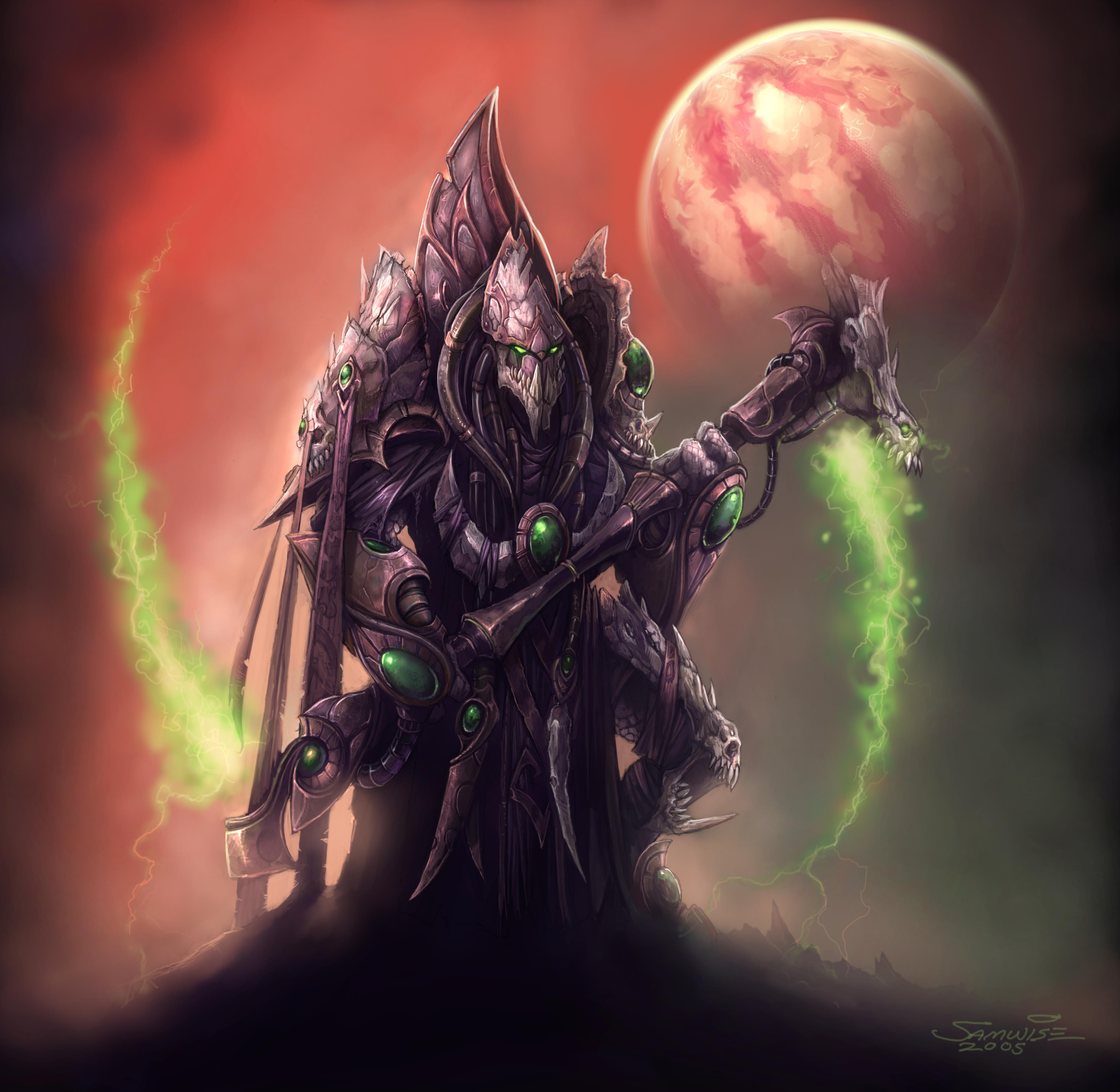 Dark Templar - StarCraft and StarCraft II Wiki