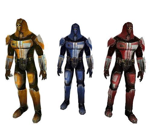 #7 Mandalorian Neo-Crusader Armor ( Red, Gold, & Blue