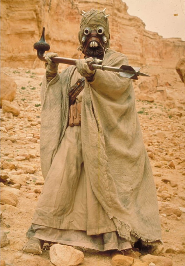 Was Darth Maul a tusken raider?
