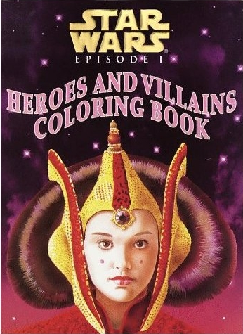 Star Wars Coloring Book. Star Wars Episode I: Heroes