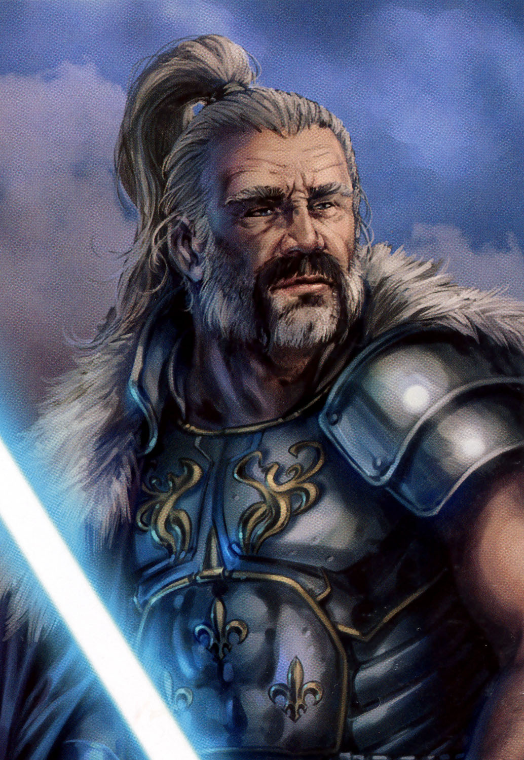 Lord Of The Rings Tarot The Hermit By Sceithailm On: Star Wars/humanpeddia Wiki