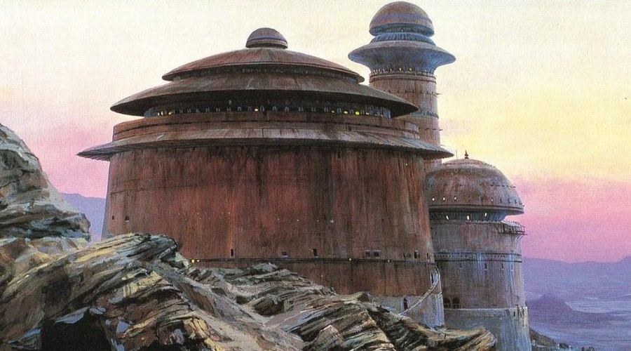 Jabba's Palace as seen in Return of the Jedi (1983)  from Wookiepedia
