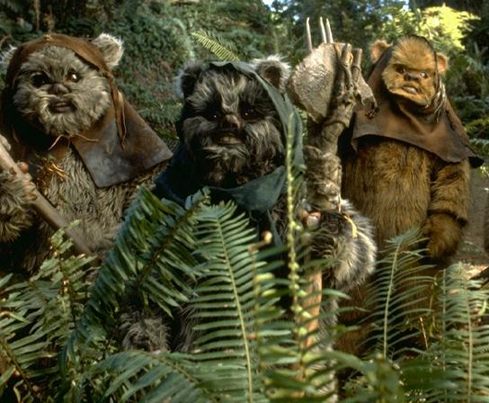 Ewoks will eat you