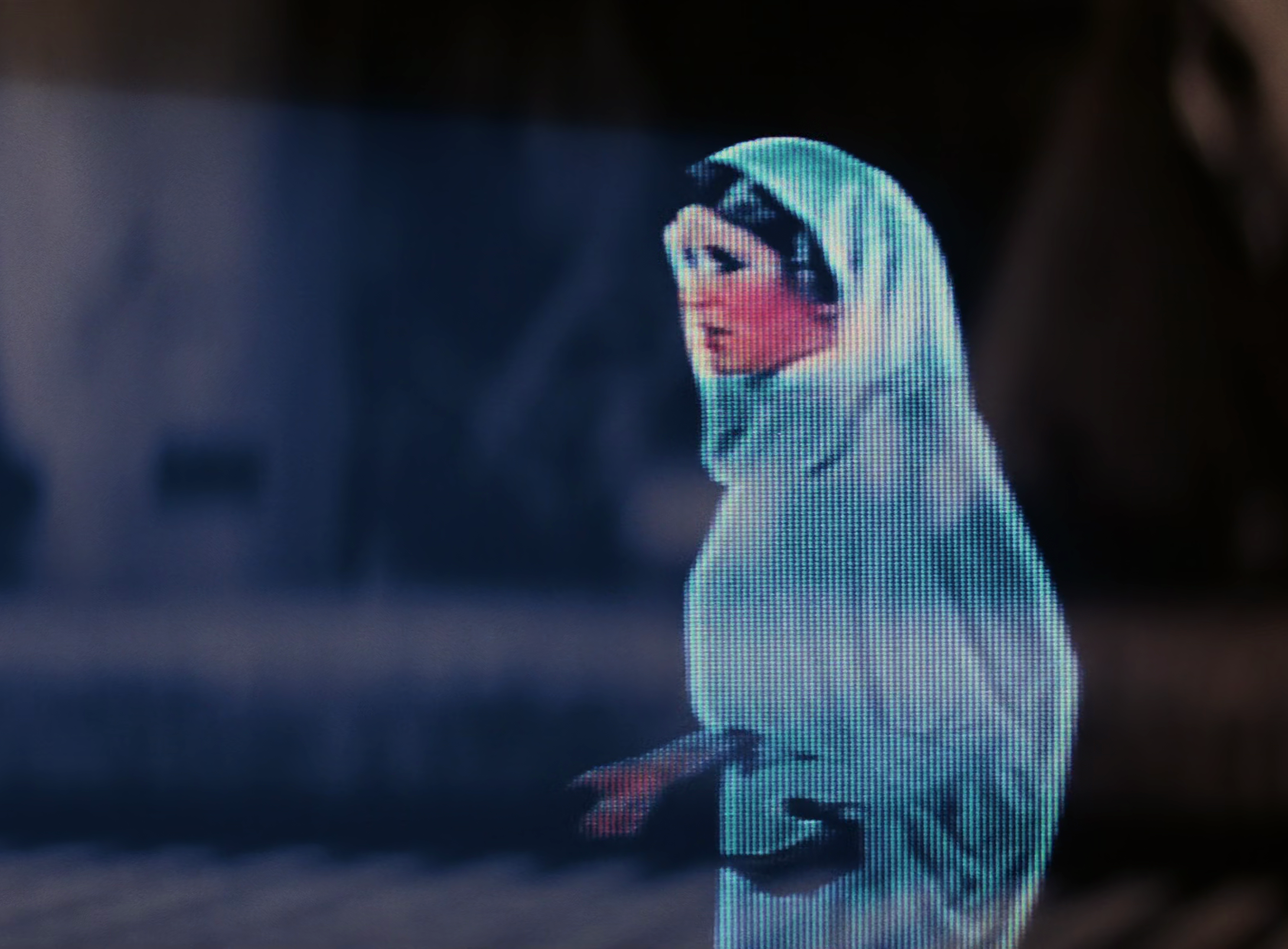 Princess Leia's hologram