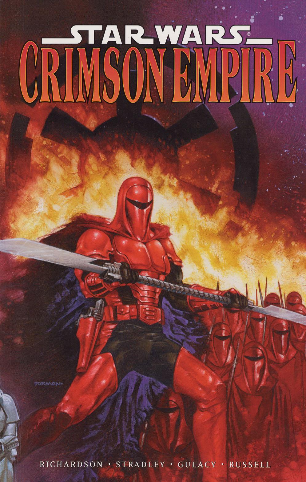 [Comics] Crimson Empire (L'Empire Écarlate) Crimsontpb