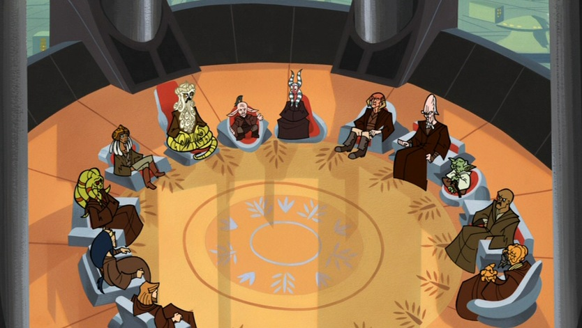 Jedi high council in 22 bby