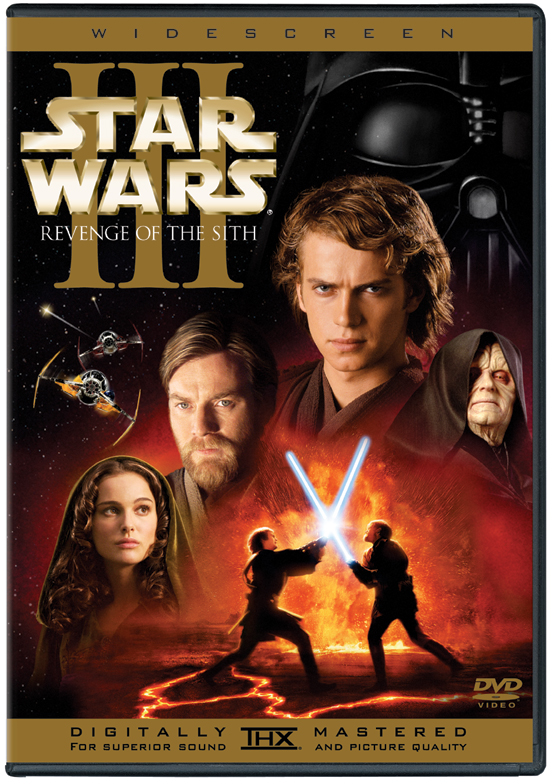 Star Wars Episode III  Revenge of the Sith dvd