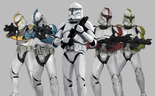 star wars clone wars clone troopers