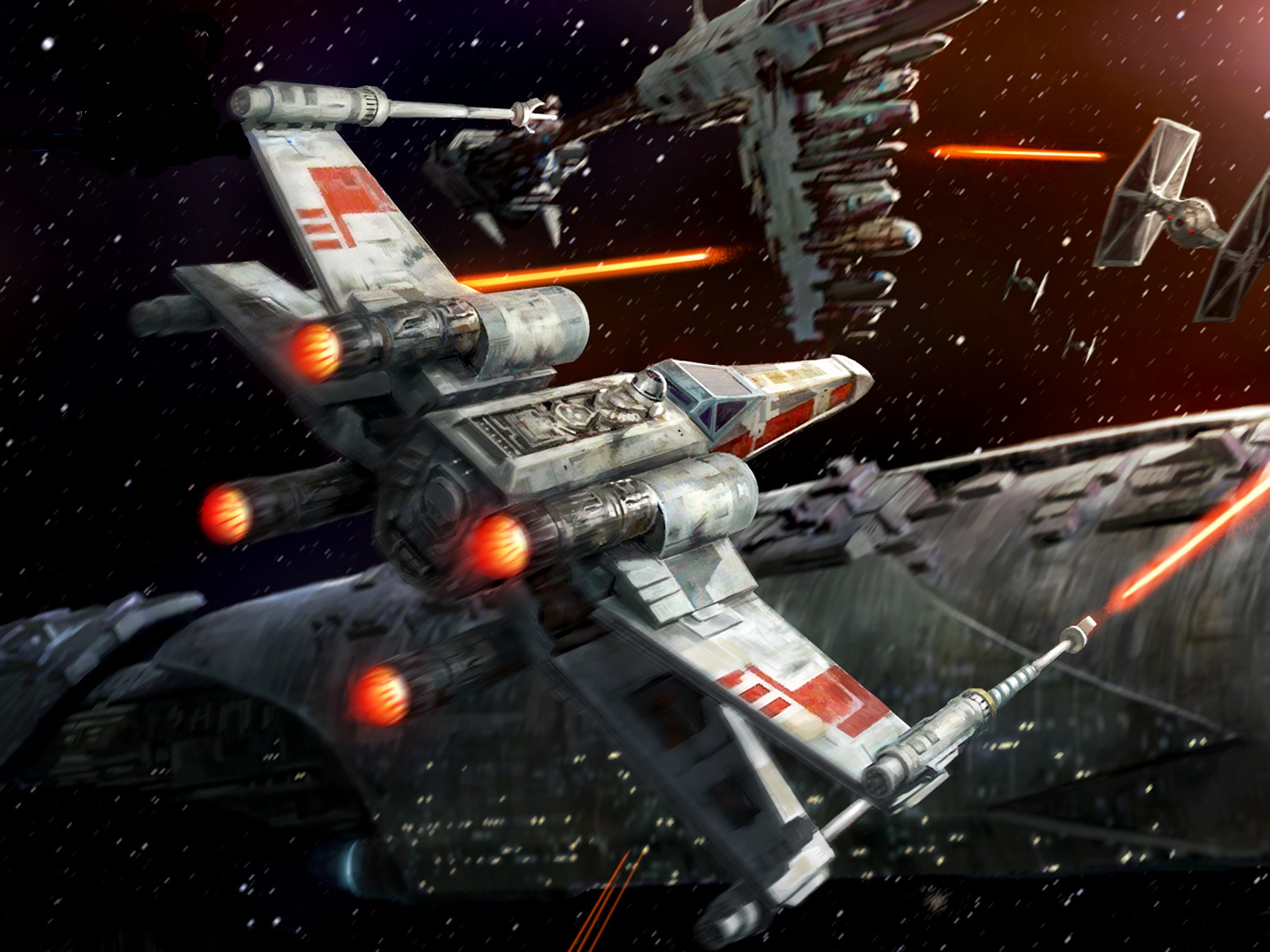 xwing fighter