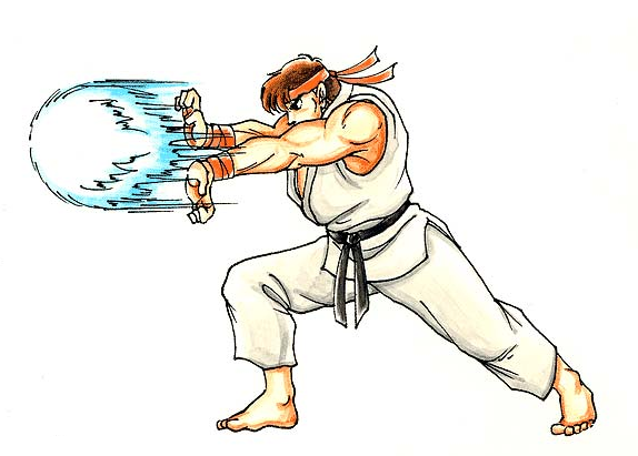 TRW : Database Ryu-hadoken-artwork