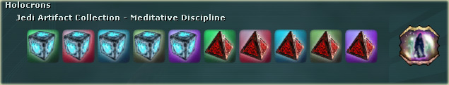 Jedi Artifact Collection - Meditative Discipline - SWG Wiki, the ...