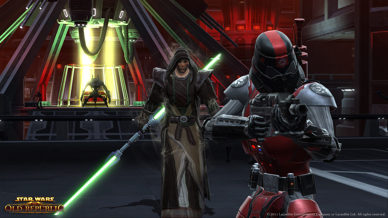 Star Wars The Old Republic Issues With Lightsaber Colors