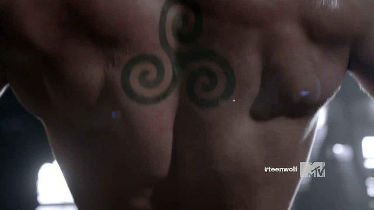 Teen Wolf Derek Tattoo