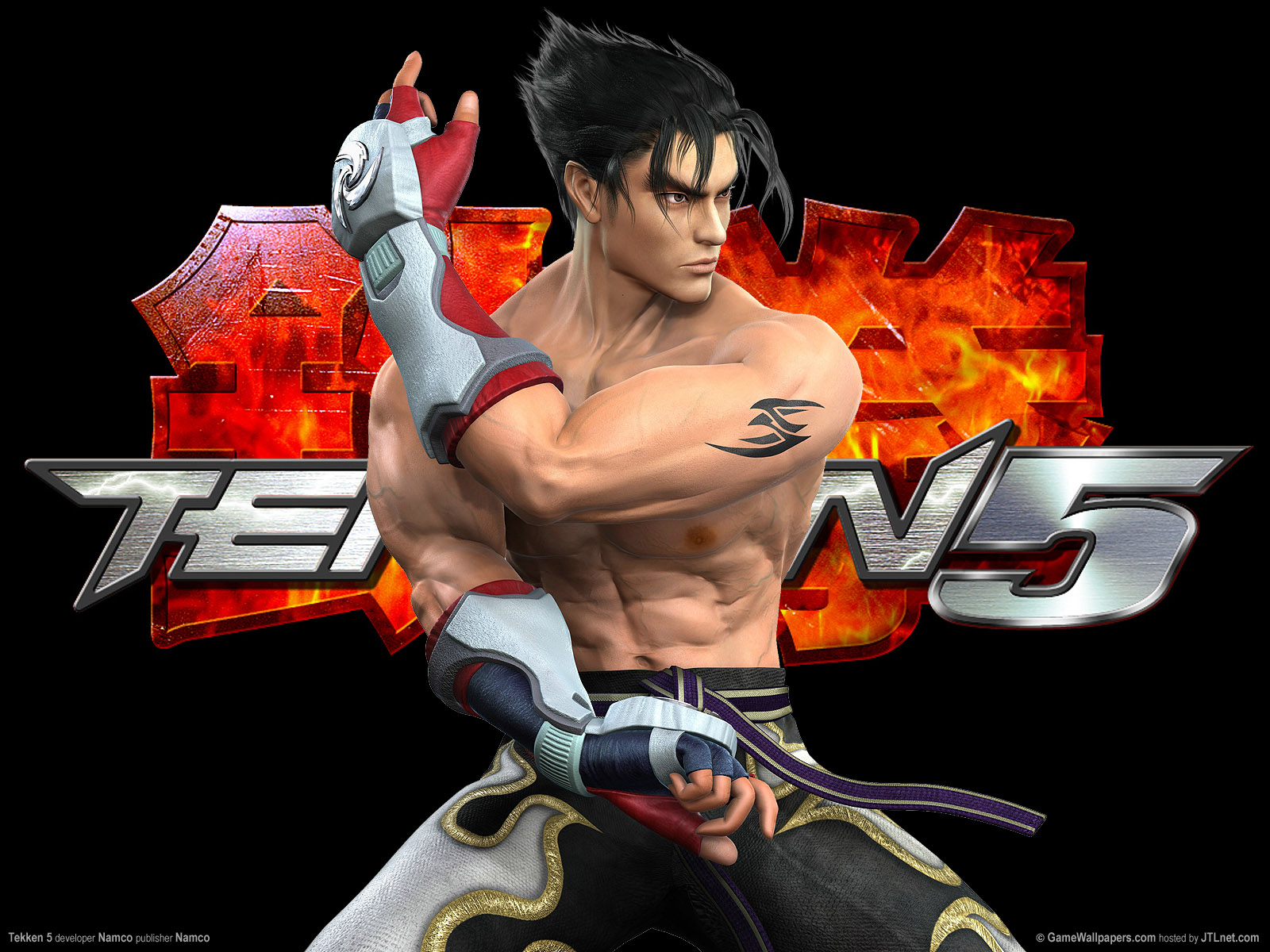 - Tekken 5 - PS2 - Inside.jpg - The Tekken Wiki - Tekken 6, Tekken