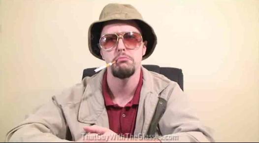 johnny depp fear and loathing in las vegas sunglasses. and Loathing in Las Vegas