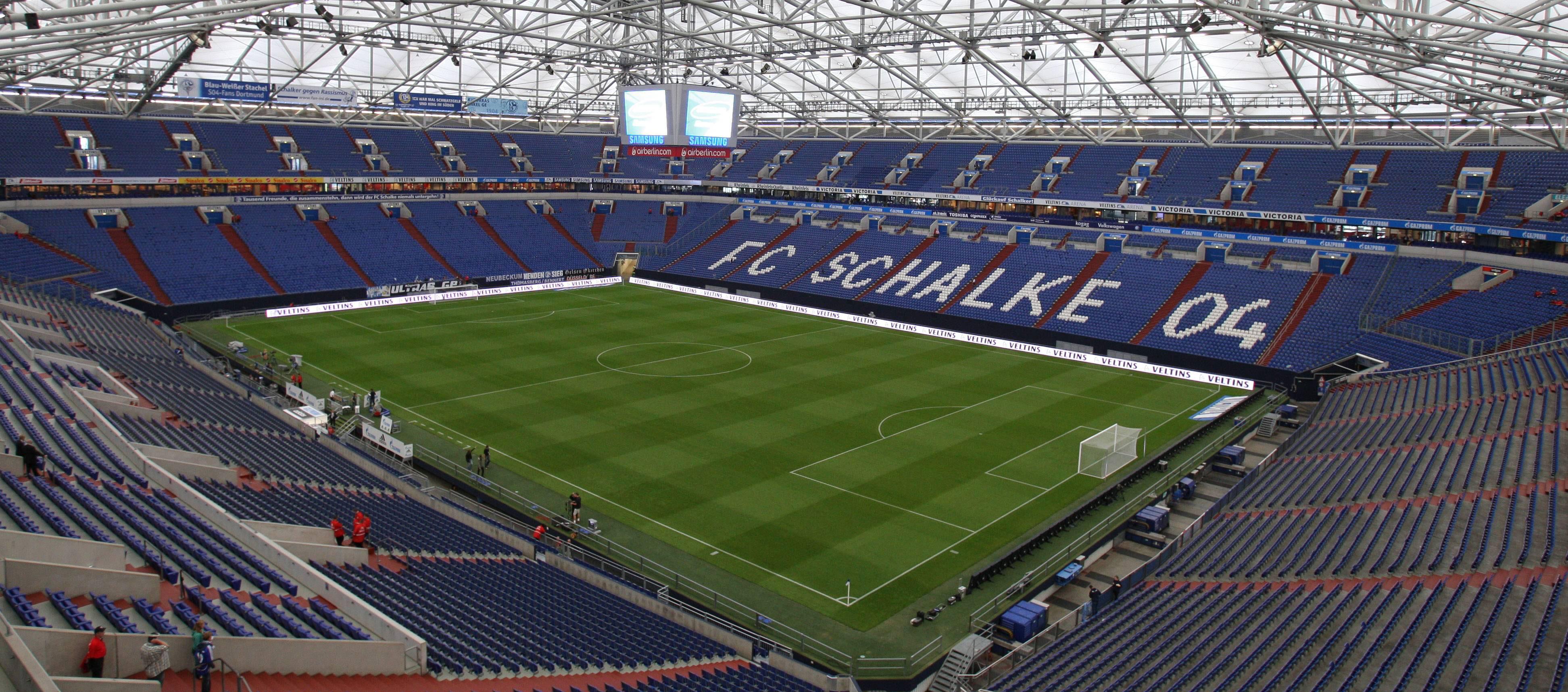 image schalke 04 stadium veltins arena. Black Bedroom Furniture Sets. Home Design Ideas
