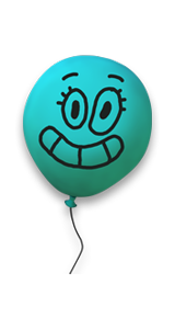 Alan The Balloon Amazing World Of Gumball Skin Series